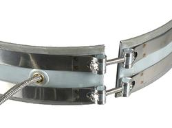 Mica Band Clamping Strap