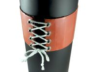 Silicone Rubber Heater With Boot Hooks and Lacing