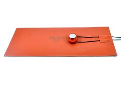 Silicone Rubber heater With Preset Thermostat